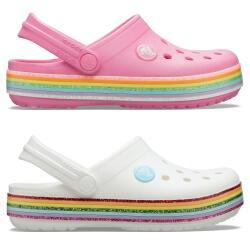 Crocs Crocband Rainbow Glitter Clog Mädchen...