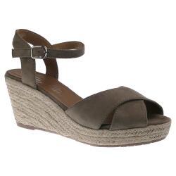 Tom Tailor 8090105 Damen Riemchen Sandalette Keilpumps...