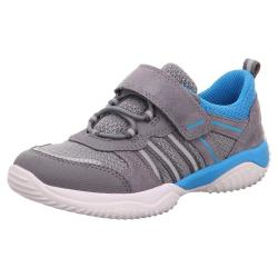 SUPERFIT Kinder Sneaker Halbschuh STORM 06383 Leder Mesh...