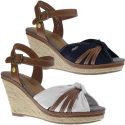 Tom Tailor 8090801 Damen Sandalette Keilpumps Wedges...