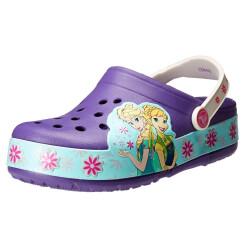 Crocs Mädchen CrocsLights Frozen Fever Kids Clogs,...