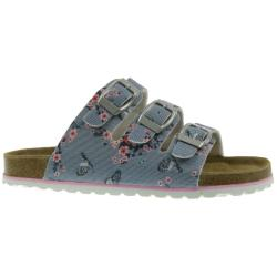 Supersoft 474 409 Kinder Pantolette Sandale Lederfussbett...