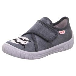 Superfit Kinder Hausschuh Sneaker BILL 00271 breiter...