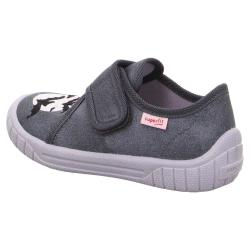 Superfit Kinder Hausschuh Sneaker BILL 00271 breiter...