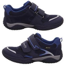 Superfit STORM Halbschuh Sneaker Leder Goretex Klett...