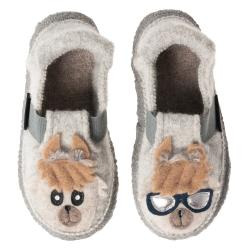Nanga Coolama Kinder Hausschuh Slipper Wolle cooles Lama...