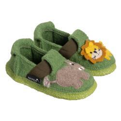 Nanga Jungle Kings Kinder Hausschuh Slipper Wolle...
