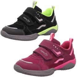 SUPERFIT Storm Halbschuh Sneaker Leder Klett Mod.1-006382...