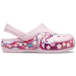Crocs Kids Fun Lab 206160 Blinkschuh Unicorn in Ballerina...