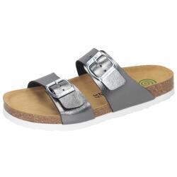 Dr.Brinkmann 700933-9 Pantolette Sandale Metallicfarbe...