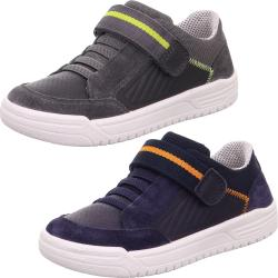 Superfit Leder Sneaker Halbschuh Earth Slow-Top Weite W...