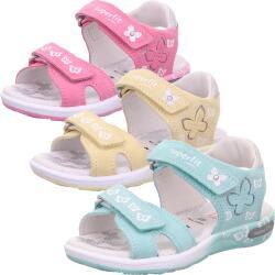 Superfit Emily Kinder Mädchen Sandale Leder 0-606131...