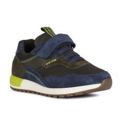 Geox J Alben Boy Sneaker Halbschuh Unisex Casual Sport...