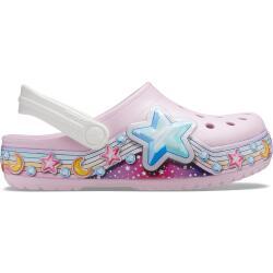 Kids Crocs Fun Lab Star Band Clog Ballerina 204824 Pink...