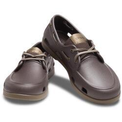 Crocs Mens Classic Boat Shoe Slipper 206338 espresso oder...