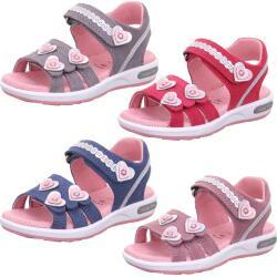 Superfit Mädchen Leder Sandale Emily Mod.00133 Klett...