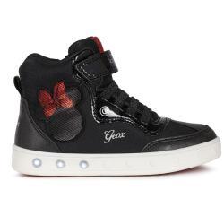 Geox J Skylin Girl Mid-Cut-Sneaker Knöchelschuh...