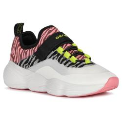 Geox J15CNA J Bubblex Girl Casual Sport Low-Cut Sneaker...