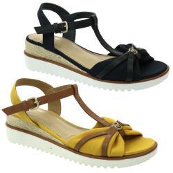 Tom Tailor 1192904 Damen Sandale T-Steg-Sandale...