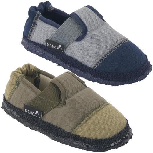 Nanga Klette Kinder Hausschuh Slipperform schiefer oder wald Gr.23-38