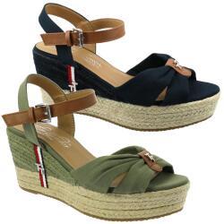 Tom Tailor 1190701 Damen Sandalette Keilpumps Wedges...