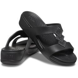 Women's Crocs Monterey Shimmer Slip-On Wedge 207143...