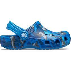 Crocs Kids Preschool Classic Shark Clog Haifisch blau...