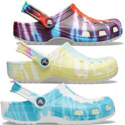 Crocs Classic Tie-Dye Graphic Clog 205453 Unisex...