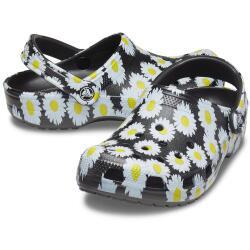 Crocs Classic Vacay Vibes Clog Black Daisy 206375...