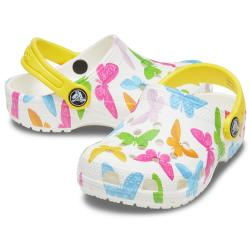 Crocs Kids Classic Vacay Vibes Clog 206351-837 Butterfly...