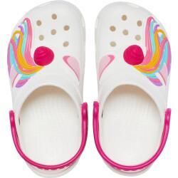 Crocs Kids Fun Lab Classic I AM Unicorn Clog weiß...