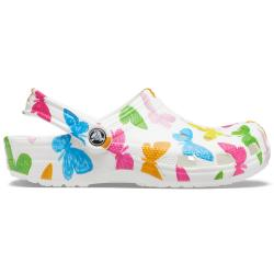 Crocs Classic Vacay Vibes Clog Butterfly White 206375-99Q...