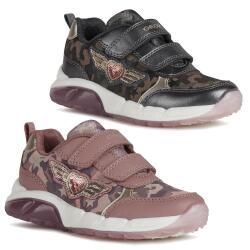 Geox Mädchen J Spaziale Girl A Sneaker Lights...