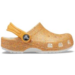 Crocs Classic Glitter Clog 205942-9BE Damen Hausschuhe...