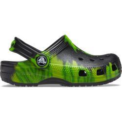 Crocs Kids' Classic Tie-Dye Graphic Clog 205441-0GU...