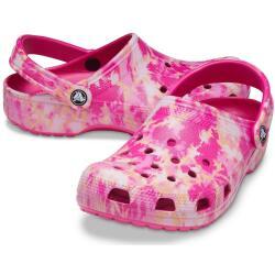 Crocs Classic Bleach Dye Clog 207326 Pantoletten Sandalen...