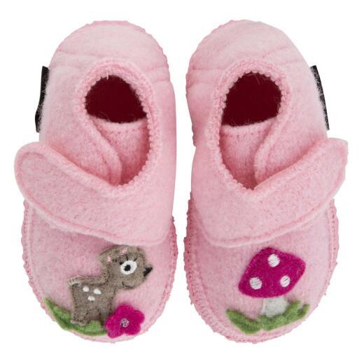 Nanga Little Bambi Baby Hausschuh Klett breiter Einstieg Rehkitz Gr.18-26