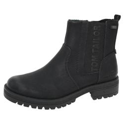 Tom Tailor 9091009 Damen Stiefelette Chelsea Boots...