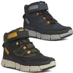 Geox Flexyper Boy Stiefelette Boots wasserdicht Amphibiox...