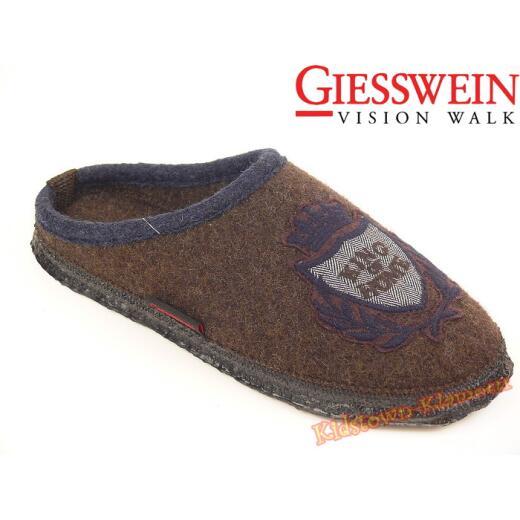 """Giesswein TESSIN Hausschuh Pantoffel """"King of Home"""" Gr. 38-46 39"""
