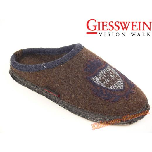 """Giesswein TESSIN Hausschuh Pantoffel """"King of Home"""" Gr. 38-46 42"""