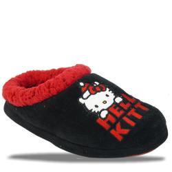 HELLO KITTY Hausschuhe schwarz rot Gr.28-34  31