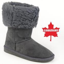 INDIGO kuschelige Boots CANADIANS Stulpe krempelbar 4...