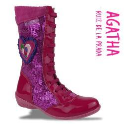 Agatha Ruiz de la Prada Mod.111983 Lederstiefel...