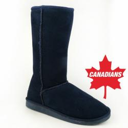 IDANA kuschelige Boots CANADIANS Stulpe krempelbar 4 Farben Gr.36-42 braun EUR 39