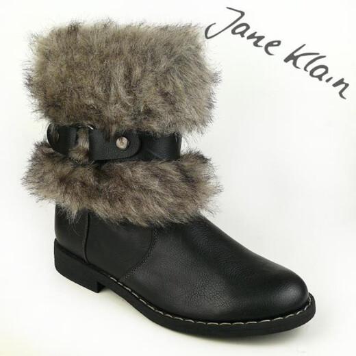 Jane Klain by IDANA Stiefelette Fellstulpe 3 Farben Gr.37-42 schwarz EUR 40