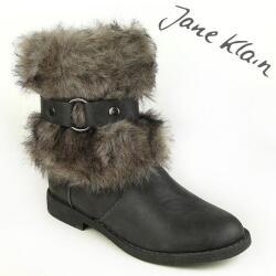 Jane Klain by IDANA Stiefelette Fellstulpe 3 Farben Gr.37-42 grau EUR 39