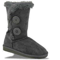 INDIGO kuschelige Boots CANADIANS 2 Knöpfe in 3...