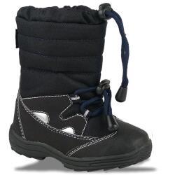 Indigo (Schlupf)Stiefel LEO Slam-Tex gefüttert 2 Farben Gr.21-28 blau 25